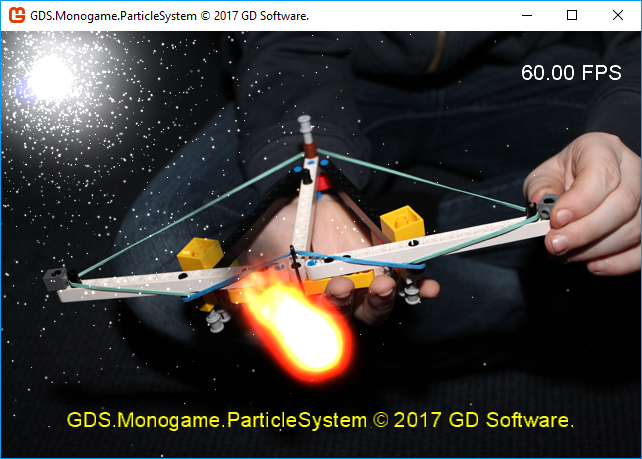 GDS Monogame Particle System Demo Project